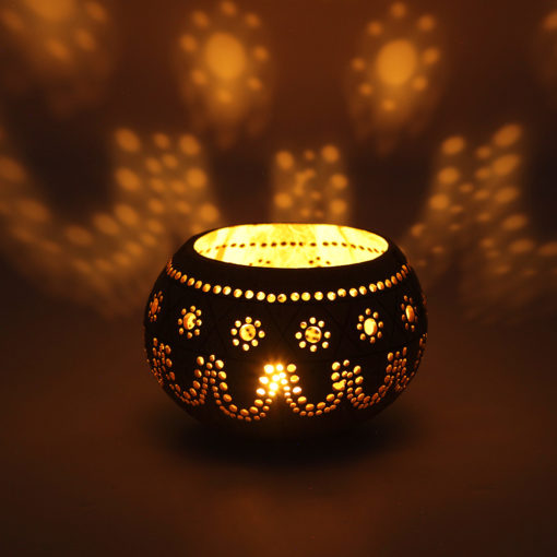 Coconut T light Candle holders