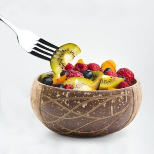 Coconut Bowls made from real coconuts